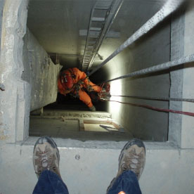 Standby Rescue - Confined Space Rescue - Industrial Rope Access Services - Rigging