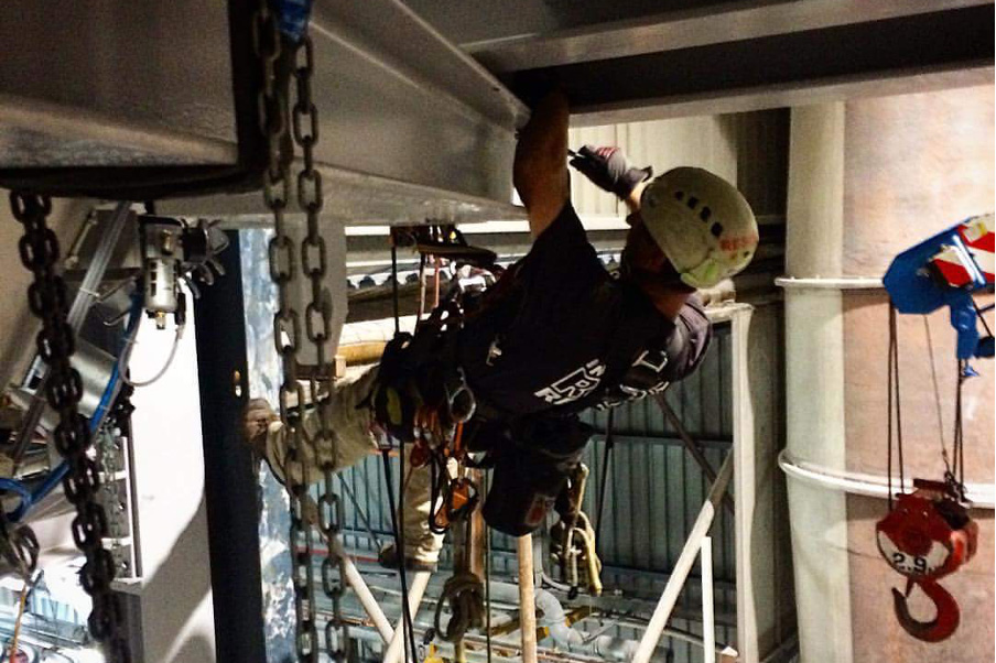 Rope Access - Rigging - Riggers - Standby Rescue